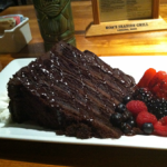 Koa's Seaside Grill: Chocolate Cake