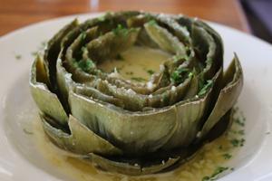 Longhi's Lahaina Happy Hour: Artichoke Longhi
